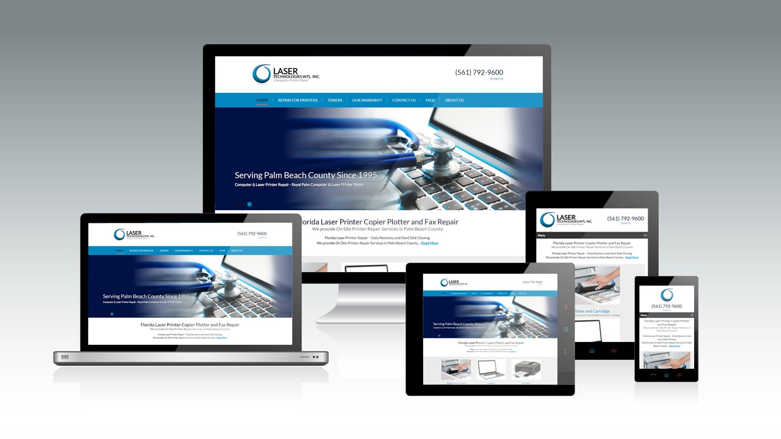 Laser Technologies International Incorporated - Web Design
