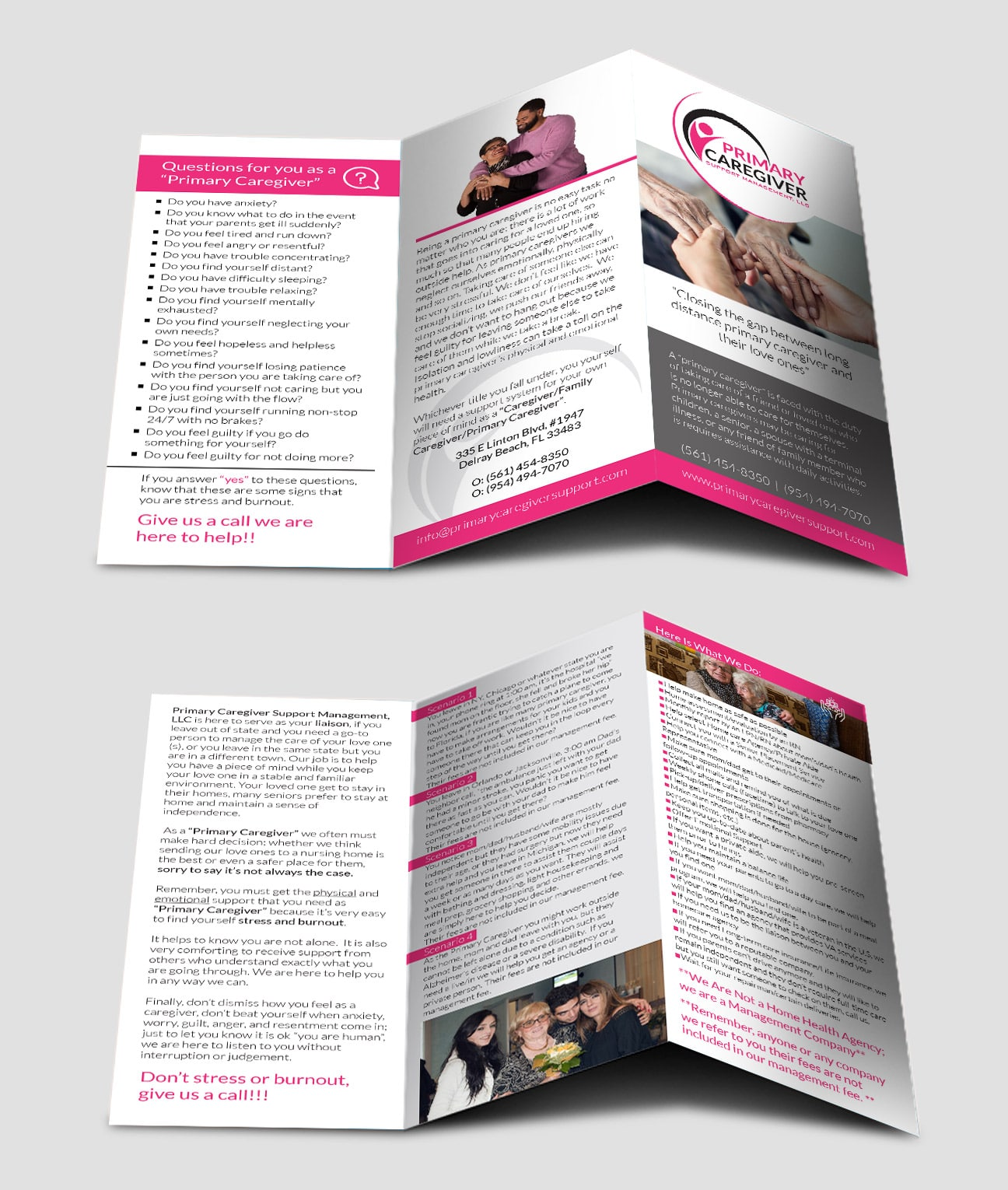 Tri-fold Brochure Design for Printing Picture 3